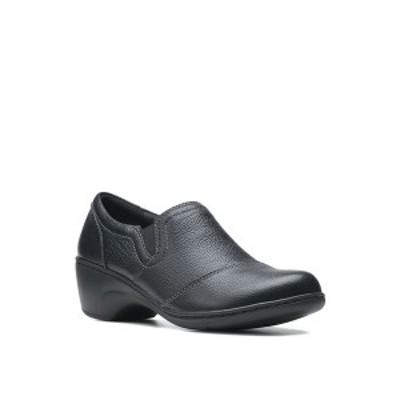 クラークス レディース サンダル シューズ Collection Women's Channing Park Clogs Black Leather