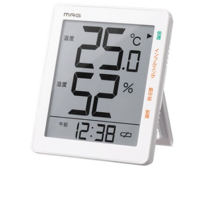 デジタル温度湿度計