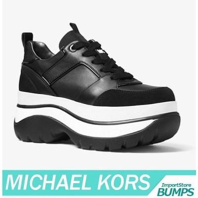 マイケルコース スニーカー/シューズ レディース/ウィメンズ レザー プラットフォーム/厚底 トレーナー 靴 新作 MICHAEL KORS MK6-2-0068
