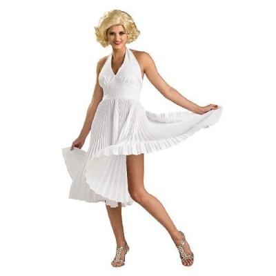 マリリンモンロー スカート コスプレ 女性 ドレス (デラックス) ハリウッドスター セクシー コスチューム