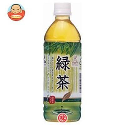 送料無料  富永貿易 神戸居留地  緑茶 500mlペットボトル×24本入
