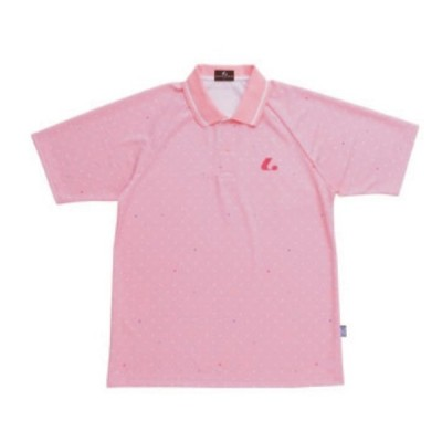XLP-7951 ライトピンク  LUCENT ルーセント Uni ゲームシャツ ポロシャツ 男女兼用 メール便対応可 スポーツウエア