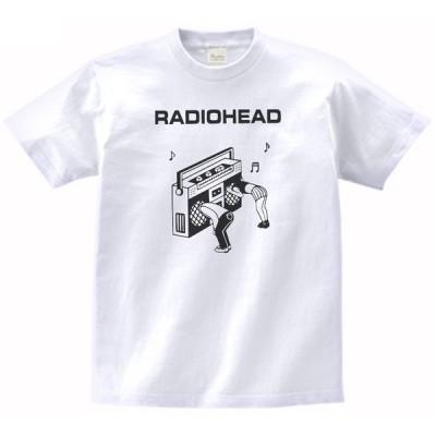 バンド ロック Tシャツ RADIOHEAD 白