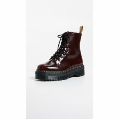 ドクターマーチン Dr. Martens レディース ブーツ シューズ・靴 Vegan Jadon II 8 Eye Boots Cherry Red