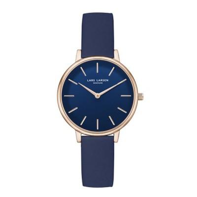 LARS LARSEN ラースラーセン LW46 Caroline キャロライン 腕時計 LL146RDML ブルー 新品