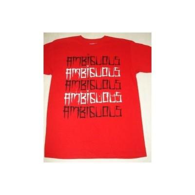 海外セレクション Tシャツ トップス AMBIGUOUS スケート MEM TRUCKS TEE T SHIRT レッド ミディアム M D-13