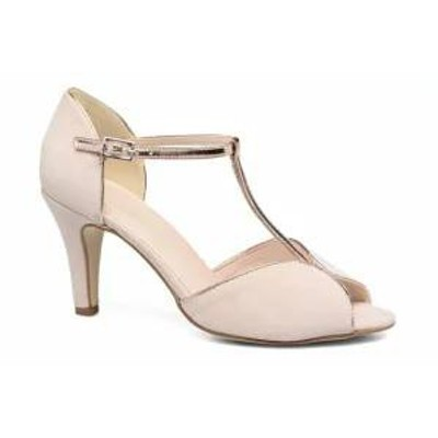 Georgia Rose レディースシューズ Georgia Rose High heels Gitango 3 Pink Velours Rose