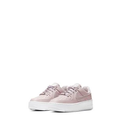 ナイキ スニーカー シューズ レディース Air Force 1 Sage Low Platform Sneaker Platinum Violet/ White
