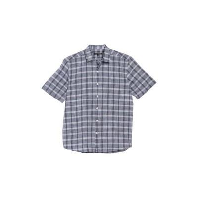 ロバートバラケット メンズ シャツ トップス Goulburn Short Sleeve Woven Shirt BLACK