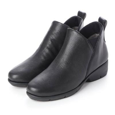 フィットフィット fitfit フラッピンショートブーツ (ブラック)