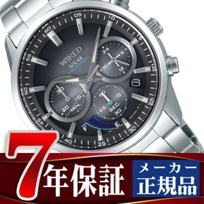 セイコー ワイアード ソーラー クロノグラフ メンズ 腕時計 AGAD095