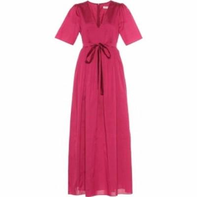 マックスマーラ S Max Mara レディース ワンピース ワンピース・ドレス Hilde cotton and silk dress
