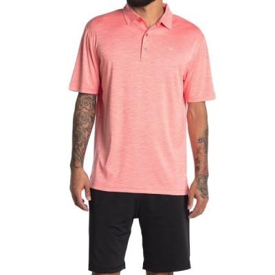 キャロウェイ ゴルフ メンズ ポロシャツ トップス Space Dye Performance Golf Polo DUBARRY HEATHER