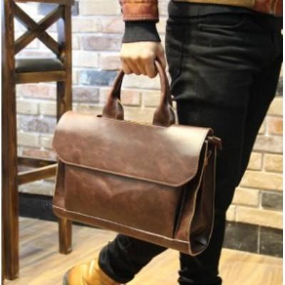 紳士 メンズ バッグ韓国スタイル ショルダーバッグ カバン鞄 ブリーフケース ビジネス シンプル