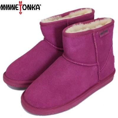 sale セール MINNETONKA(ミネトンカ) Limited Edition VISTA ANKLE BOOT(限定ヴィスタアンクルブーツ) #85505 FUCHSIA レディース MT426