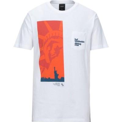 ハフ HUF メンズ Tシャツ トップス t-shirt White