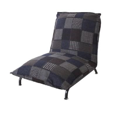 フロアソファ ブロート NV(パッチワーク完成品,1人掛け,リクライニング,フロアソファ,座椅子)