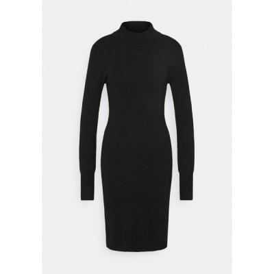 カフェ ワンピース レディース トップス EVA ASTRID DRESS - Jumper dress - black deep