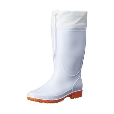 [ヘイギ] 長靴 快適作業長靴 エンボスインソール付き メンズ CM-2811 (ホワイト 28.0 cm)