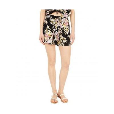 Volcom ヴォルコム レディース 女性用 ファッション ショートパンツ 短パン Forget Yoself Shorts - Black Floral Print
