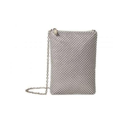 Jessica McClintock ジェシカマクリントック レディース 女性用 バッグ 鞄 ハンドバッグ クラッチ Gina - Silver
