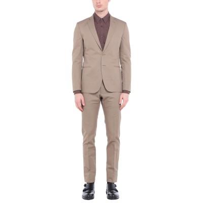 トネッロ TONELLO スーツ キャメル 50 コットン 71% / 麻 29% スーツ
