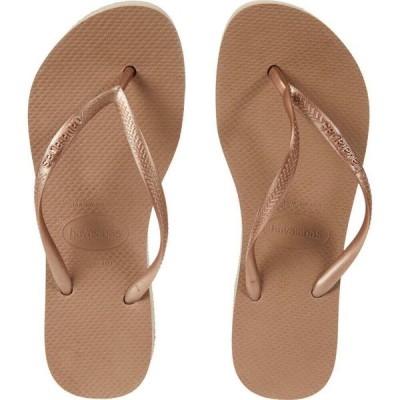 ハワイアナス Havaianas レディース サンダル・ミュール 厚底 シューズ・靴 Slim Flatform Sandal Rose Gold