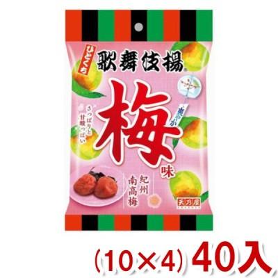 天乃屋 ひとくち歌舞伎揚 爽やか梅味 52g (10×4)40入 (Y12) 本州一部送料無料