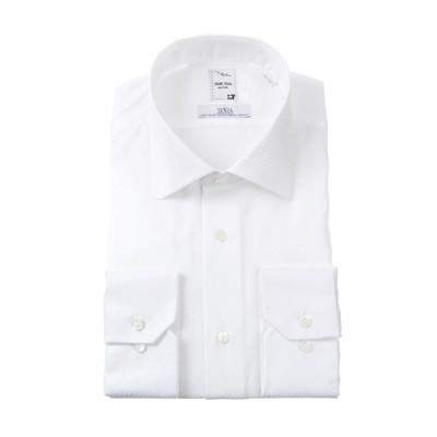 ラウンドカラースタイリッシュワイシャツ《プレミアム》