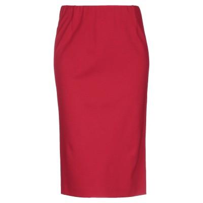 ZENGGI 7分丈スカート レッド 1 レーヨン 71% / ナイロン 24% / ポリウレタン 5% 7分丈スカート