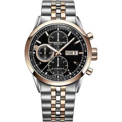 腕時計 レイモンドウイル Raymond Weil メンズ 7730-SP5-20111 フリーlancer オートマチック ステンレス スチール 腕時計