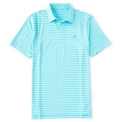サウザーンタイド メンズ シャツ トップス Driver Bold Stripe Performance Short-Sleeve Polo Shirt