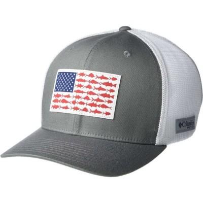 コロンビア Columbia レディース キャップ 帽子 PFG Mesh Ball Cap XXL Titanium/White