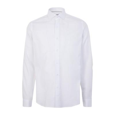 WEBB & SCOTT CO. シャツ ホワイト 39 コットン 100% シャツ