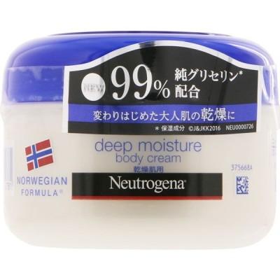ジョンソン・エンド・ジョンソン ニュートロジーナ ノルウェー フォーミュラ ディープモイスチャー ボディクリーム 乾燥肌用・微香性 200ml
