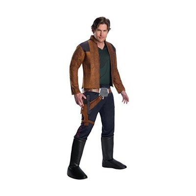 Rubie's Men's Star Wars Story Deluxe Han Solo Costume, As Shown, Standard[並行輸入品]