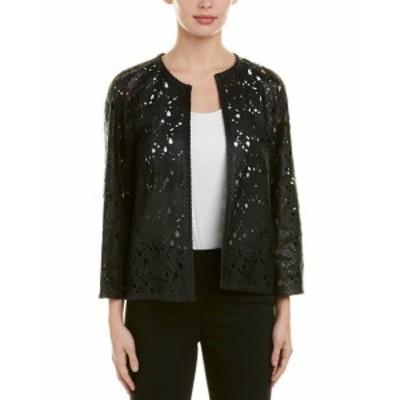ESCADA エスカーダ ファッション 衣類 Escada Leather Jacket 34 Black