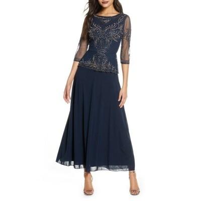 ピサッロナイツ ワンピース トップス レディース Bead Embellished Gown Carbon