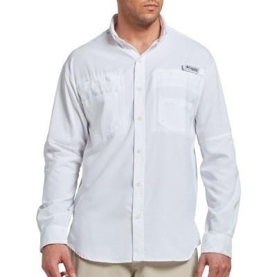 コロンビア シャツ トップス メンズ Columbia Men's Tamiami II Long Sleeve Shirt (Regular and Big & Tall) White