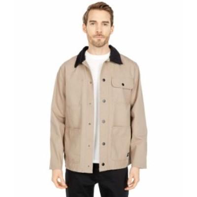 バンズ メンズ コート アウター Drill Chore Coat Jacket Miltary Khaki