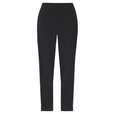 TWELVE-T パンツ ブラック 46 ポリエステル 91% / ポリウレタン 9% パンツ