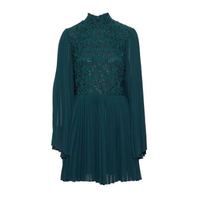 PERSEVERANCE ミニワンピース&ドレス ダークグリーン 6 ポリエステル 100% ミニワンピース&ドレス