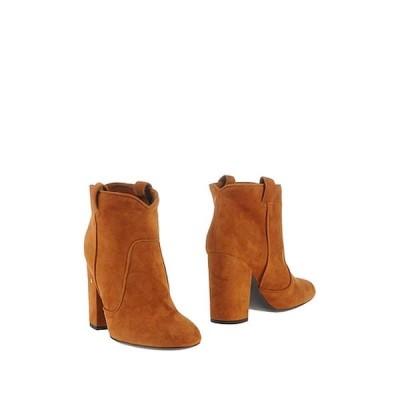 LAURENCE DACADE ウエスタンショートブーツ ファッション  レディースファッション  レディースシューズ  ブーツ  その他ブーツ キャメル