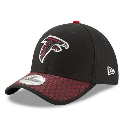 ニューエラ メンズ 帽子 アクセサリー Atlanta Falcons New Era 2017 Sideline Official 39THIRTY Flex Hat