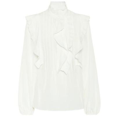 クロエ Chloe レディース ブラウス・シャツ トップス silk blouse Iconic Milk