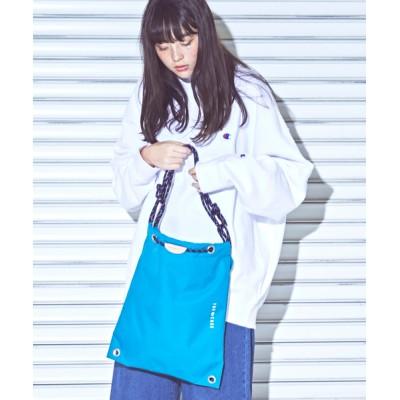 THE CASE / 【THE CASE】SHIBORI LIGHT 4WAY SACK / シボリ ライト 4ウェイ サック WOMEN バッグ > バックパック/リュック