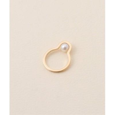 レディース ノーブル 【Hirotaka】 Beluga Pearl Ring S ゴールド XS