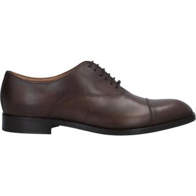 アルマーニ EMPORIO ARMANI メンズ シューズ・靴 laced shoes Brown
