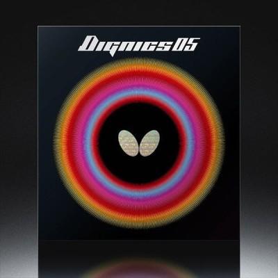 【メール便可】 [Butterfly]バタフライ 裏ソフトラバー『赤』 ディグニクス05 (06040)(006)[取寄商品]