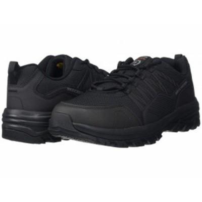 SKECHERS Work スケッチャーズ メンズ 男性用 シューズ 靴 スニーカー 運動靴 Fannter Black【送料無料】